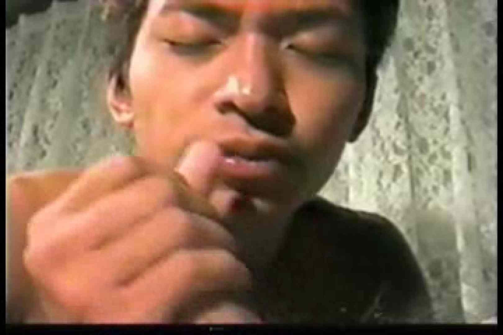 【自己製作販売ビデオ】オナニーフェラ挿入 アナル天国 | おじさん ゲイ発射もろ画像 13連発 6