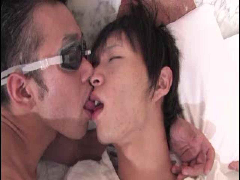 LOVE デカチン対決!! アナルsex | 責め ゲイザーメン画像 10連発 6