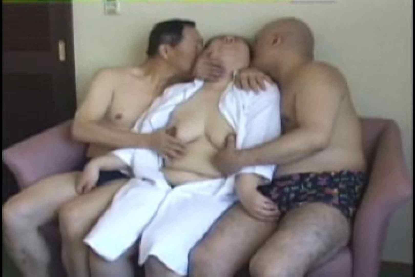 熟男女の3P フェラ最高 | 3P4P ゲイ素人エロ画像 12連発 1