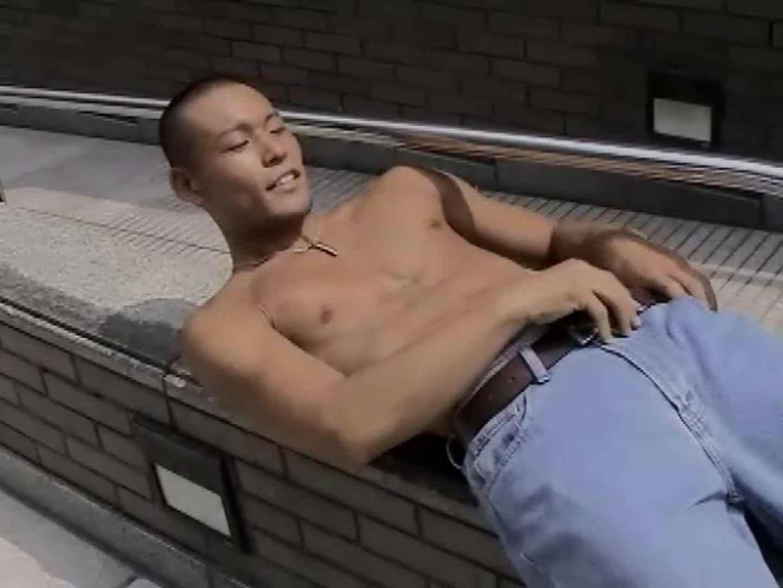 浪速のケンちゃんイケメンハンティング!!Vol09 ゲイの裸 | イケメン ゲイザーメン画像 13連発 1
