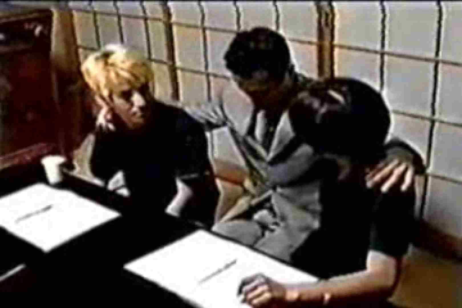 発掘!!10年前のVHSお宝ゲイ動画!! ディープキス | 連結フェラ チンコ画像 9連発 2