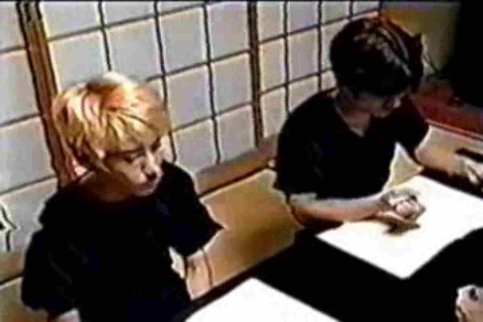 発掘!!10年前のVHSお宝ゲイ動画!! ディープキス | 連結フェラ チンコ画像 9連発 7